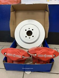 MGF/TF/LE500 Brand New 2-Pot AP Calipers (PR) inc.304mm Discs/Pads/Bolts &Screws