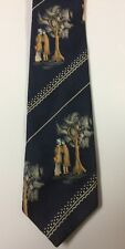 Vtg Wemlon Wembley Asian Inspired Tie Necktie
