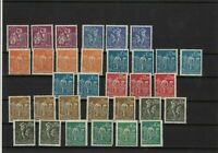 germany 1920-23 mnh stamps ref 11037
