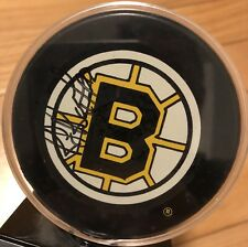 Vintage 90s Autographed RAY BOURQUE Boston Bruins Hockey Puck Authentic NHL