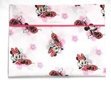 Minnie Mouse Toddler Pillowcase on Light Pink Cotton #M14 New Handmade