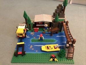 LEGO 6552 Bergcamp von 1993, mit Karton und Aufbauanleitung