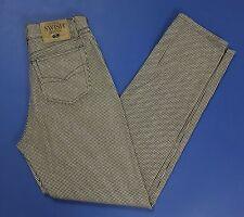 Swiss jeans pantalone donna W32 tg 46 mom hot alta usati affusolati carota T2136