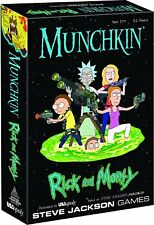 Munchkin Rick And Morty Card Game From Steve Jackson Games MU085-434 USAopoly