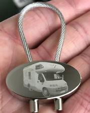 Knaus Traveller 504 Schlüsselanhänger Wohnmobil Keyring Fotogravur Gravur