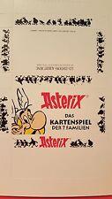 Asterix ,das Kartenspiel der 7 Familien   NEU