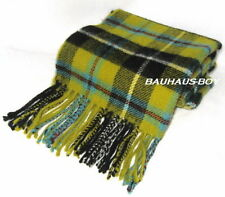SCOTTISH CLAN NECK SCARF CORNISH NATIONAL TARTAN PURE 100% LAMBSWOOL HIGHLAND