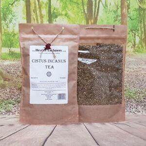 Cistus Incanus Tea 100g (dried herbs) - Health Embassy 100% Natural Czystek