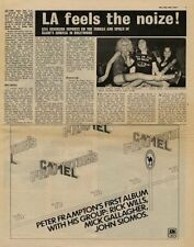 Slade UK Interview + Frampton's Camel advert 1973