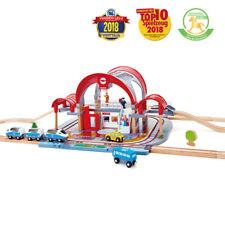 Hape E3725 Grand Ville Gare Train Chemin de fer en bois bébés enfants jouet 3 an...