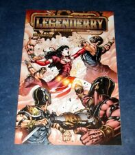 LEGENDERRY a steam punk adventure #1 I HIGH END variant ONLY 25 exist VAMPIRELLA