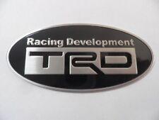 TRD Racing, Toyota Motorsport, 3D Aluminium Plakette, Aufkleber, Sticker, Emblem