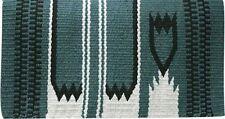 "GREEN 36"" x 34"" 100% New Zealand Wool Western Show Saddle Blanket! NEW TACK!!"