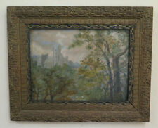 Bild Antike Landschaft Rahmen Art Nouveau Frankreich Anfang Jh Malerei BM46