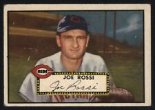 1952 TOPPS HIGH NUMBER #379 JOE ROSSI GREAT COLOR RC REDS PRICED TO SELL (PTS)