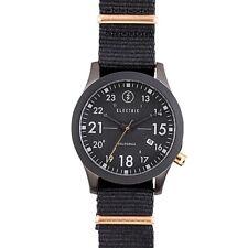 Electric FW01 Nato Watch - All Black / Copper - New