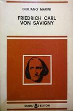 Giuliano Marini, Friedrich Karl von Savigny, Guida, Napoli 1978