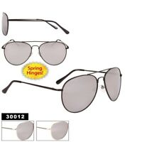 c0cdb9601d Unisex Mens and Womens Fashion Style 30012 Sunglasses with Mirrored Lens