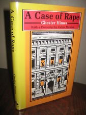 1st Edition A CASE OF RAPE Chester Himes FIRST PRINTING Harlem Fiction CLASSIC