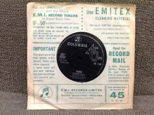 SP HELEN SHAPIRO - FEVER - OLE FATHER TIME - COLUMBIA DB 7190