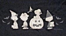 "Snoopy & Peanuts Gang Halloween Tshirt--""Let's Go Haunting"" (Glows In dark)"