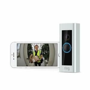 Ring Video Doorbell Pro with Plug-In Adapter , 1080p HD, Two-Way