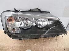 BMW X3 F25 HALOGEN HEADLIGHT 63127217288  LHD CONTINENTAL