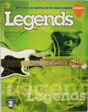 How to Play and Compose Like the World's Greatest Guitarists Legends Book CD