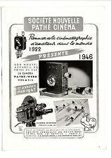 Ancienne publicité de 1946 pour Pathé Cinéma ~ 27x37 cm ~ FRFN168