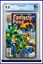 Fantastic Four #v3#14 CGC Graded 9.0 Marvel February 1999 White Pages Comic Book