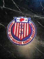 "Razorback Rifle Pistol Club Logo Patch Vtg 3"" Rare Retro 70s 80s Rogers AR Hog"
