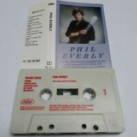 PHIL EVERLY S/T SELF TITLED CASSETTE TAPE ALBUM BROTHERS CAPITOL UK 1983