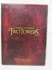 The Lord of the Rings: The Two Towers DVD, 2003, 4-Disc Set FREE EXP SHIPPING