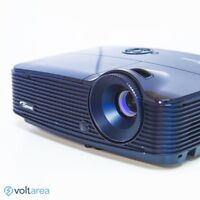 Optoma X313 DLP Projector 3000 ANSI Business projector HDMI remote and cables in