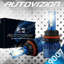 AUTOVIZION LED HID Headlight kit 9007 HB5 White for 2002-2003 Lincoln Blackwood