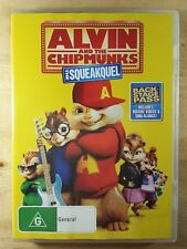 Alvin And The Chipmunks - The Squeakquel (DVD, 2010)