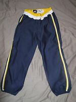 University of MICHIGAN Wolverines Authentic GAME USED Softball Pants Home Blue