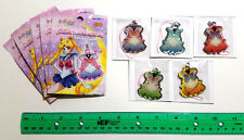 Sailor Moon - Ensky Crystal Metal Charm Phone Strap - Complete SET of 5