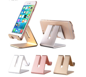 Cell Phone Tablet PC Desk Holder Universal Mount Metal Foldable Stand New