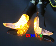 Motorcycle LED Turn Signal Indicator Lights Blinker For Honda Bike Motorized CRF