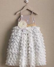 Chasing Fireflies Girls Cascading Tulle Dress Size 12
