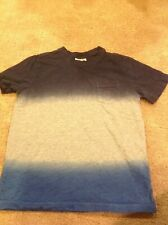 Hanna Andersson Short-Sleeve Blue T-Shirt Size 130