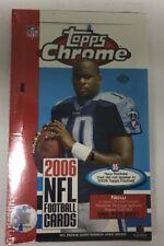 2006 Topps Chrome Factory Sealed Football Hobby Box