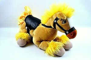 "Disney Store Princess Belle's Pony Horse 18"" Plush Retired FREE SHIPPING"