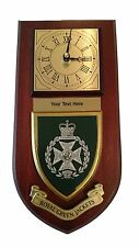 RGJ Royal Green Jackets Personalised Military Wall Clock Plaque UK Made for MOD
