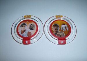 DISNEY INFINITY 3.0 Star Wars Poe Finn Stormtrooper Resistance Jacket Disc Lot