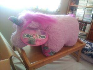 purple unicorn pillow pet