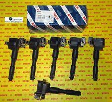 BMW 6 Piece Ignition Coil Set - BOSCH - 0221504029, 00143 - NEW OEM