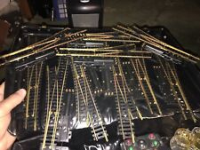 HO TRAIN TRACK GRAB BAG / Ten Turnouts / Controllers / Misc Track sections /Wire