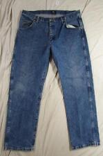 Wrangler 47MWZDS Faded Denim Jeans Tag Size 36x30 Measure 36x30 Cowboy
